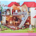 บ้านตุ๊กตาซิลวาเนียนพร้อมเฟอร์นิเจอร์ (EU) Sylvanian Families City House with Lights Gift Set A