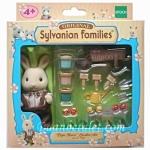 ซิลวาเนียน คุณพ่อกระต่ายมิลค์กับชุดทำสวน (EU) Sylvanian Families Papa Boris' Garden Set