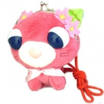 กระเป๋าสตางค์ตุ๊กตาแมวใบชาซากุระ (Ocha-ken: Sakura)