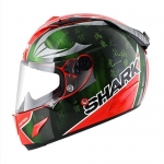 SHARK RACE-R PRO SYKES Red Green Chrom
