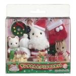 ซิลวาเนียน ชุดซานต้ากับเบบี้ (๋JP) Sylvanian Families Merry Christmas Set