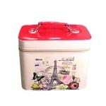 กระเป๋าเครื่องสำอาง Paris (สีแดง)