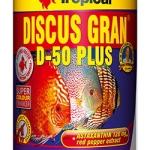 อาหารปลา TROPICAL Discus Gran D-50 Plus (สูตรสำหรับปอมปาดัวร์)