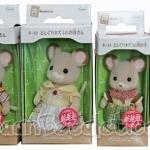 [หมดค่ะ] ครอบครัวซิลวาเนียน หนูเมซ 4 ตัว (JP) Sylvanian Maces Mouse Family