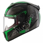RACE-R PRO CINTAS Black green anthra