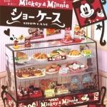 [SOLD OUT] รีเมนท์ของจิ๋ว..ตู้โชว์ขนมมิกกี้-มินนี่ Re-ment Disney Mickey & Minnie Showcase