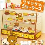 [Out of Stock] รีเมนท์ของจิ๋ว ตู้โชว์อาหารหมีลีลัคคุมา Re-Ment Rilakkuma Showcase