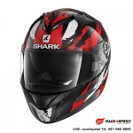 SHARK RIDILL OXYD Black red silver