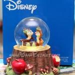 *[หมดค่ะ] ลูกแก้วดนตรีชิพกับเดล (Disney Chip & Dale Musical Water Globe) V50