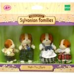 ซิลวาเนียน ครอบครัวหมาชิฟฟ่่อน 4 ตัว (EU) Sylvanian Families Chiffon Dog Family