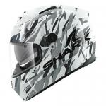 SHARK SPEED-R 2 FIGHTA White silver black