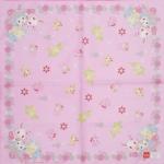 ผ้าเช็ดหน้า จีเวลเพ็ท Jewelpet 42x42 cm Handkerchief - Flower