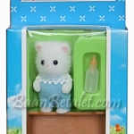 [SOLD OUT] ซิลวาเนียน..เบบี้แมวเปอร์เซีย+เปล (UK) Sylvanian Families Persian Cat Baby