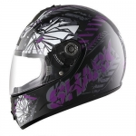 SHARK S600 PINLOCK POONKY Black Violet Anthracite