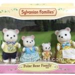 [Out of Stock] ครอบครัวซิลวาเนียน หมีขาว 4 ตัว Sylvanian Families Polar Bear Family
