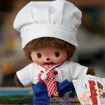 ตุ๊กตาเบบี้จิจิในชุดพ่อครัว 5.5นิ้ว(Chef Bebichhichi Boy)