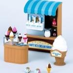 ร้านไอศครีม ซิลวาเนียน (EU) Sylvanian Families Soft Serve Ice Cream Shop