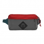 JanSport กระเป๋าเป้ T81B0UY รุ่น Waisted - Forge Grey/Red Tape
