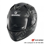 SHARK RIDILL SKYD Mat Black Anthrac Silver