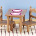 ซิลวาเนียน ชุดโต๊ะอาหารเช้า (EU) Sylvanian Families Breakfast Table & Chair