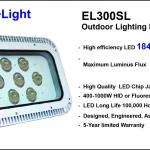 สปอร์ตไลท์ LED ประหยัดไฟสูงสุด รุ่น EL300SL