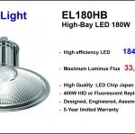 LED High-Bay รุ่น EL 180 HB