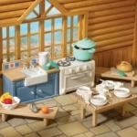ซิลวาเนียน เฟอร์นิเจอร์ห้องครัว (UK) Sylvanian Families Rustic Kitchen Set