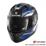 SHARK RIDILL TIKA Mat Black blu white