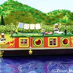 [SOLD OUT] บ้านตุ๊กตาซิลวาเนียน..เรือ Rose of Sylvania (UK) Sylvanian Families Riverside Canal Boat V5%