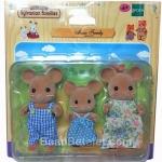 ครอบครัวซิลวาเนียนหนู 3 ตัว (EU) Sylvanian Families Mouse Family Set