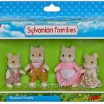 ครอบครัวซิลวาเนียน..ฮามิลตัน-แฮมสเตอร์ 4 ตัว (UK) Sylvanian Families Hamilton Hamster Family