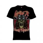 เสื้อยืด วง Slayer แขนสั้น แขนยาว S M L XL XXL [8]