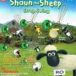 ห้อยโทร/คล้องกระเป๋า..โมเดลแกะชอน 6 ชิ้น (Shaun the Sheep Strap Swing)