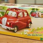 ซิลวาเนียน รถครอบครัวสีแดง (EU) Sylvanian Families Red Family Saloon Car