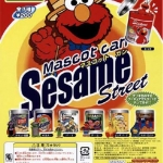 โมเดลเซซามีมินิในกระป๋องเหล็ก 7 ชิ้น (Sesame Street)