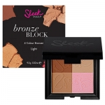 Sleek Makeup Bronze Block 4 Colour Bronzer 9.3g #Light 100