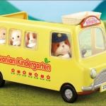 [หมดค่ะ] ซิลวาเนียน (JP) รถโรงเรียนอนุบาล (Sylvanian Families: Kindergarten Bus) V5%
