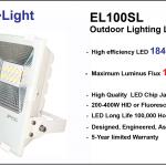 สปอร์ตไลท์ LED ประหยัดไฟสูงสุด รุ่น EL100SL