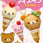 [SOLD OUT] รีเม้น ปากกาหมีลีลัคคุมา 6แบบ Re-ment Rilakkuma Ice Cream Pen