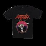 เสื้อยืด วง Anthrax แขนสั้น แขนยาว สั่งได้ทุกขนาด S-XXL [Easyriders]