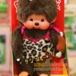ตุ๊กตาลิงมอนจิจิในชุดมนุษย์หิน (20cm Cave Man Monchhichi Girl)
