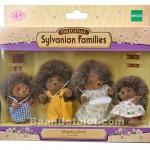 ครอบครัวซิลวาเนียน คุณเม่นแบรมเบิ้ล 4 ตัว (Sylvanian Families Hedgehog Family)