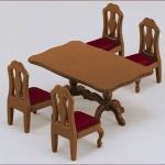 ซิลวาเนียน ชุดโต๊ะอาหารครอบครัว (JP) Sylvanian Families Family Table