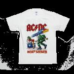 เสื้อยืดวง AC/DC ผ้า Gildan xS-3XL [MAYDAY]
