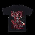 เสื้อยืด วง Deadpool แขนสั้น สกรีนเฉพาะด้านหน้า สั่งได้ทุกขนาด S-XXL [MARVEL]