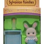 ซิลวาเนียน เบบี้กระต่ายคอตตอน+เปล (EU) Sylvanian Families Cottontail Rabbit Baby with Crib