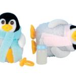 ซิลวาเนียน เบบี้แฝดเพนกวิน ท่านั่ง-ยืน (UK) Sylvanian Families Penguin Twins