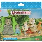 ซิลวาเนียน คุณแม่ปั่นจักรยาน (EU) Sylvanian Families Cycling with Mother
