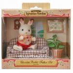 ซิลวาเนียนพ่อกระต่ายช็อคโกแลตกับโซฟา (EU) Sylvanian Chocolate Rabbit Father & Settee