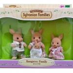 ซิลวาเนียน ครอบครัวจิงโจ้ 4 ตัว Sylvanian Families Kangaroo Family